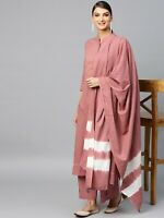 Indian Women Kurti Dupatta Palazzo Set Kurta Cotton Dress Top Tunic Combo Ethnic