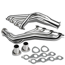 Fit 67-72 396/402/427/454 V8 Chevy Big Block Long Tube Header Exhaust Manifold