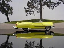 HOT WHEELS 1953 CADILLAC BIARRITZ CONVERTIBLE IN YELLOW 1/64 SCALE DIECAST