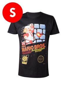 T-Shirt Super Mario Bros - Nintendo Nes - Taglia S - Maglia Maglietta Originale