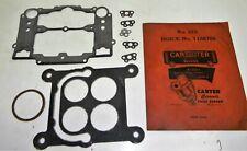 Nos Carburetor Gasket Kit No 323 1186708 1958 Buick 348 Engine 4 Barrel