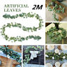 Wedding Garland Rattan Artificial Eucalyptus Vivid Centerpieces Home Party Decor