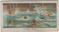 Water Polo Sport Swimming 1920s Trade Ad Card