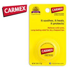 [CARMEX] Moisturizing Lip Balm Jar Pharmacist Choice (ORIGINAL) Made in USA NEW