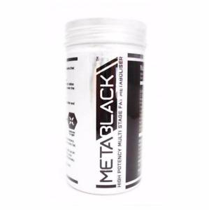 MetaBlack M3 - 60 Capsule - High Potency Multi Stage Fat Metaboliser- BEST PRICE