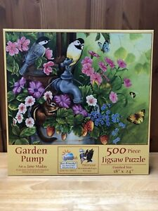 Garden Pump - SunsOut 500 Piece Jigsaw Puzzle🌻
