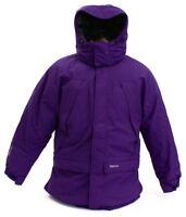 Marmot Purple Yukon Jr. Classic Down Hooded Parka Young Men's Size NWT
