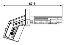 Sensor Raddrehzahl - Bosch 0 265 007 930