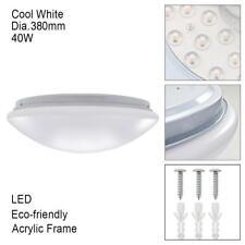Runde 40W LED Deckenleuchte Leuchte Lampe Schlafzimmer Beleuchtung Cool White PW