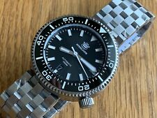 Steel Divers watch 1000m Automatic NH35 Boxed 🇬🇧NEW 47mm boxed  2 Straps