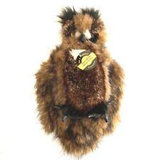"Folkmanis Great Horned Owl Puppet 14"""