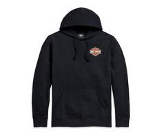 Harley Davidson Men's Logo Pullover Hoodie