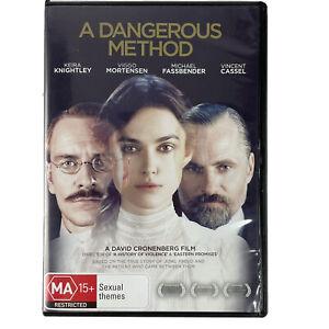A Dangerous Method David Cronenberg DVD PAL Keira Knightly