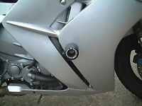 R&G RACING Crash Protectors - Yamaha FJR1300 up to 2005 **BLACK**