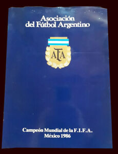 FIFA WORLD CUP MEXICO 1986 - ARGENTINA CHAMPION - AFA Program