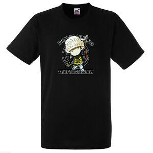 One Piece Short Sleeve T Shirt / Trafalgar D. Water Law / Japanese Anime
