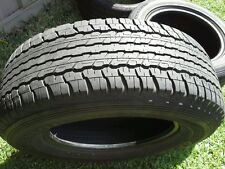 265/65R17 DUNLOP AT22 GRANDTREK MORE USED ATR 4WD SPARE TYRE - 2nd hand wheel