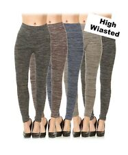 Women's Fleece Lined High Waisted Leggings Winter Thick Warm Thermal Stretchy