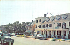 Princess Anne MD Somerset Ave. Old Cars Truck Postcard