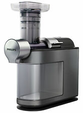 Philips Avance Micro Masticating Slow Juicer 1 Litre 200W Metallic Grey HR1947