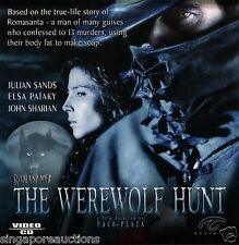ROMASANTA - THE WEREWOLF HUNT (ORIGINAL VCDS) RARE & OUT OF PRINT!