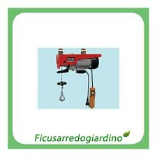 EUROPEA  PARANCO ELETTRICO  Kg 200  MONOFASE CON FRENO MECCANICO  750 W - 218210
