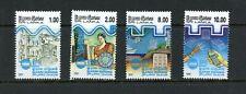 X147  Sri Lanka  1991  telecoms space satellite  4v.    MNH
