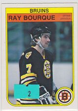 1982 82-83 O-Pee-Chee #7 Ray Bourque 3rd Year NM/MT+
