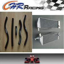 aluminum radiator and hose for Honda CR 125 R CR125R 2-STROKE 1989 89