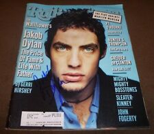 JAKOB DYLAN SIGNED ROLLING STONE #762 JUNE 12, 1997 THE WALLFLOWERS MAGAZINE