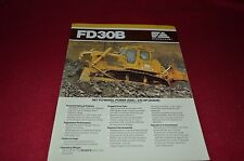 Fiat Allis Chalmers FD30B Crawler Tractor Dealer's Brochure BWPA
