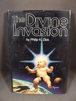 VINTAGE THE DIVINE INVASION PHILIP K. DICK HC/DJ BOOK CLUB - 1981