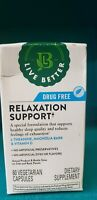 LIVE BETTER SLEEP EXHAUSTION RELAXATION L THEANINE MAGNOLIA BARK 60 CT