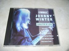 Johnny Winter - The World of Gangster of Love * CD Holland 1992 Blues Rock *