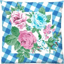 Suenos HEIDIS ROSENGARTEN Blüten Vintage KISSENBEZUG Rockabilly