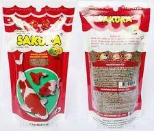 Tropical Fish Food SAKURA Colour Goldfish Carp Fancy Guppy Koi Pellet Floating