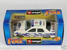 [PF3-54] BBURAGO BURAGO 1/43 STREET FIRE COLLECTION #4183 FORD SIERRA RALLY NEW