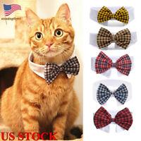 Adjustable Dog Puppy Necktie Collar Gentleman Bow Ties Pet Cat Necktie Clothes