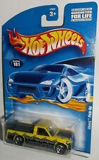 Hot Wheels 2001 Collector #101 Chevy Pick Up Barb'd & Wired Yellow 3SPs 50631