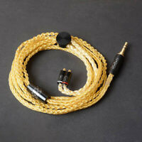 DIY 8 Core Braided 7N OCC Silver-Plated Upgraded Cable 0.78mm MMCX IM IE80 A2DC