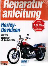 Buch Reparaturanleitung Harley-Davidson FLT / FXR Evolution ab Bj.1984 Band 5145