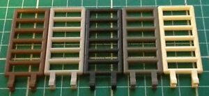 LEGO 6020 Bar 7 x 3 with Double Clips (Ladder) x2