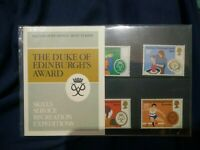 """Duke of Edinburghs Award Scheme"" Stamp presentation pack"