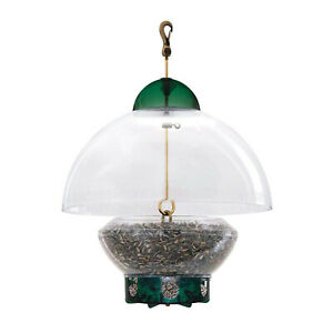 Droll Yankees Big Top Squirrel Proof Adjustable Dome Top Bird Feeder, 3 Pounds