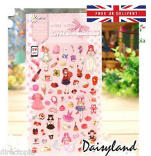 Little Princess Fairytale Design Kawaii Diary Album Decor Stickers Scrapbook DIY
