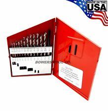 Norseman 13pc CN-TECH NITRIDE-CRYO M7 Drill Bit Set 1/16-1/4 MADE IN USA CT-13