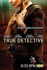 TRUE DETECTIVE MANIFESTO COLIN FARRELL VINCE VAUGHN RACHEL MCADAMS TAYLOR KITSCH