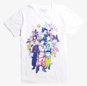 Anime DRAGON BALL Z SUPER GROUP T-Shirt NEW Authentic & Official