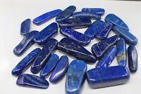 Lapislazuli Massage Steine AAA Geschliffen Dekoration Heilsteine Blaue Töne