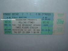 ROLLING STONES 1994 Unused Concert Ticket THREE RIVERS Pittsburgh VOODOO LOUNGE
